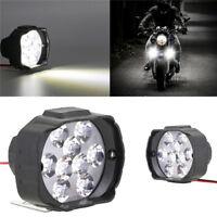 1Pcs Motorcycle Led Headlight SpotLight 9 LED Lights Motorbike Fog Light PM