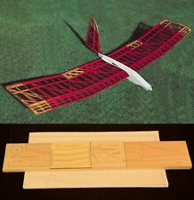 "80"" wing span EL CONDOR R/c Glider short kit/semi kit and plans"