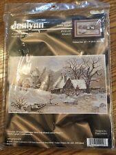 """Janlynn Windmill #102-02 Counted Cross Stitch Boyd Designs Made In USA 12"""" X 9"""""""