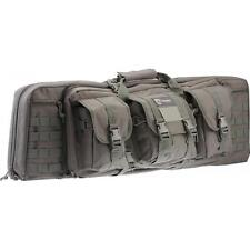 "Drago Gear 36"" Tactical Gear Double Soft Rifle Case Grey 12-301Gy"