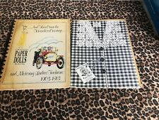 Horseless Carriage Collector Series Paper Dolls Iva Ann Motoring Ladies Fashion