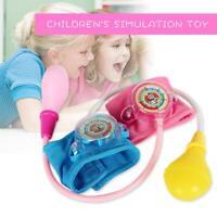 Kinder Simulation Hausarzt Spielzeug Spielhaus Puppe Blutdruckmessgerät Spielzeu