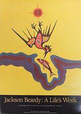 Jackson Beardy Original Lithograph Hand Signed Native Untitled Myth 1971 Rare