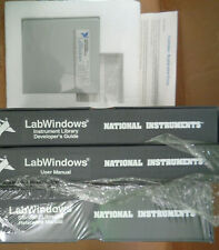 National Instruments LabWindows 1.1 1989 - Manuals & disks -Complete, Never used