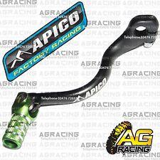 Apico Black Green Gear Pedal Lever Shifter For Kawasaki KX 250 1999 Motocross