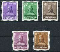 Luxemburg 284 - 288 postfrisch aus Satz 284 - 289 Kinderhilfe Michel 100,00 Euro