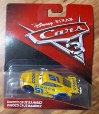 Voiture Disney cars 3 N°51 Dinoco Cruz Ramirez