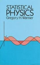 NEW - Statistical Physics (Dover Books on Physics) by Wannier, Gregory H.