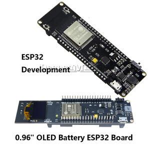 WEMOS ESP32 WiFi Bluetooth 18650 Battery 0.96 inch OLED Development CP2102