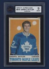 1970-71 OPC Darryl Sittler (RC) #218 KSA 9 MINT Toronto Maple Leafs *Pack-Fresh*
