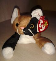 Chip Brown and black kitten cat by TY Plush The Beanie Babies Collection 1996