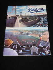 NLCS Playoff program -  Pirates @ DODGERS - 1974