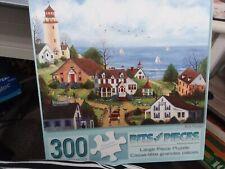 Mary Ann Vessey Bits & Pieces Puzzle 300 Pieces Bon Voyage Complete