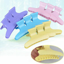 12Pcs Colorful Hair Claw Salon Section Clip Clamps Hairdressing Tool
