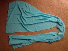 Ladies teal scarf