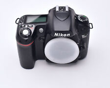 Nikon D80 10.2MP Digital SLR Camera Black Body Only 10,270 Actuations DX (#6920)