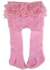 """15"""" Doll Clothes Thick Pink Rumba Winter Tights Derriere Ruffles Bitty Baby"""