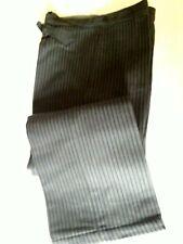 Ancien pantalon de travail rayé homme neuf 1930 40 T.36 Old worker pant sz S