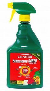Celaflor Schädlingsfrei CAREO Rosenspray 750ml gebrauchsfertig gegen Blattläuse