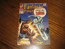 Marvel - FANTASTIC FOUR  #55 Comic!! Silver Surfer!! Glossy VG