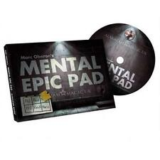 Mental Epic Pad (Props and DVD) by Marc Oberon - Magic Tricks