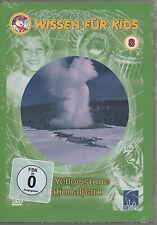 Wissen für Kids 8 Der Yellowstone Nationalpark Kinder DVD NEU Grizzlybären uvm.