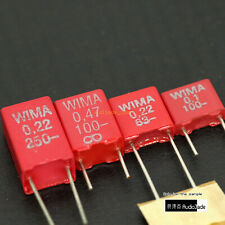 [AudioJade] 0.1uF 0.22uF 0.47uF 63V 100V 250V WIMA MKS2 MKT Film Capacitors