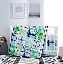 3-Piece Crib Baby Bedding Set, toddler bedding set, 32 x 42 inches Comforter
