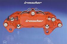 5x Irmscher brake calipers  decals logo emblem Opel Astra Cors Insignia Adam GT