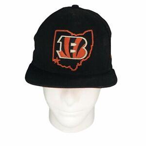 New Era Cincinnati Bengals Ohio Black Hat Andy Dalton Flat Bill 9Fifty Snapback