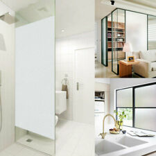 Frosted Privacy Glass Window Film Sticker Bedroom Bathroom Home Decor