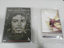 MICHAEL JACKSON THE LIFE OF AN ICON DVD + POSTCARDS REGION 6 CHINA SEALED NEW &