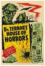 DR. TERROR'S HOUSE OF HORRORS Movie POSTER 27x40 B Christopher Lee Peter Cushing