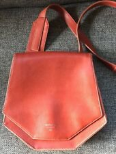 Matt and Nat Red Vegan Leather Structured Tote Purse Cross Body Bag