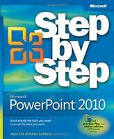 Microsoft PowerPoint 2010 Step by Step (Step by Step) by Joyce Cox, Joan Lambert