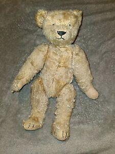 Pre-War Antique Bing Teddy Bear Character Light brown Mohair Teddy Bear