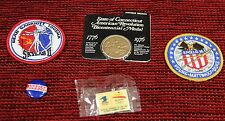 5 lot of Commemorative Apollo16 & Skylab II patch,1776 Bicentennial coin, misc