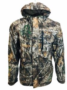 Mens REALTREE Camouflage Padded Waterproof Hunting Jacket Coat Shooting Fishing