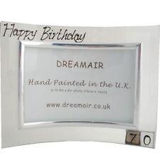 70th Birthday Gift Photo Frame Square (Landscape)