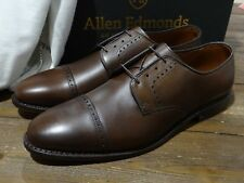 NIB Allen Edmonds Clifton Brown Leather Cap Toe Mens Dress Shoes 11.5D Made USA