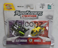 Transformers Cybertron Scatorbrain and Monocle Figure MISP Brand New