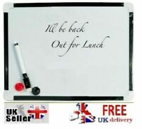 Magnetic Whiteboard Office Kitchen Notice Memo Wedding Board - BUY 3 GET 1 FREE