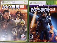 Mass Effect 2&3 Xbox 360
