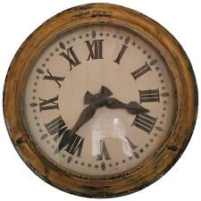French Brillie Railway Clock, Painted Metal, 1930s
