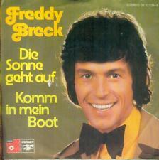 """7"""" Freddy Breck/Die Sonne Geht Auf"""