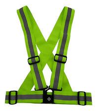 Reflective Safety Vest Belt Sports Construction Walking Dog Night Time Dark NEW