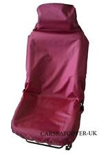 LOTUS 2-ELEVEN  - BURGUNDY WATERPROOF FRONT SEAT COVER - SINGLE