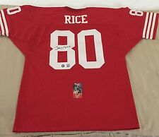 Jerry Rice Autographed Signed 49ers Jersey w/ COA