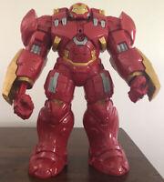 "2015 Iron Man 13"" Action Figure Marvel Hasbro Talking Hulk Buster Toy - Working"