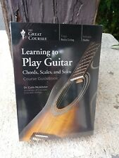 The Great Courses Learning to Play Guitar: Chords, Scales, and Solos (New)